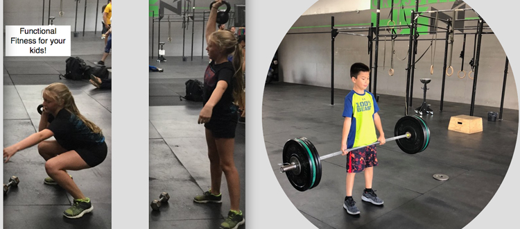 CrossFit Kids at CrossFit 45 North in Hillsboro Oregon